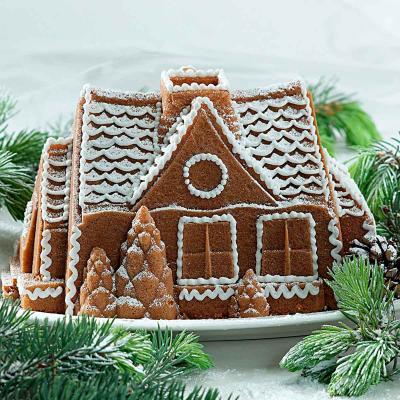 Motllo Caseta Gingerbread House Nordic Ware