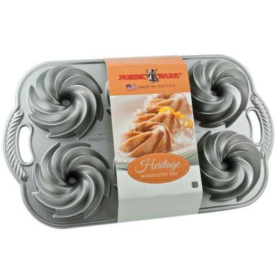 Motllo pastís Mini Heritage Bundt Nordic Ware x6