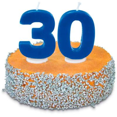 Espelma pastís aniversari nº 0