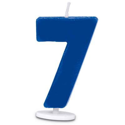 Vela pastel aniversario nº 7