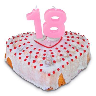 Vela pastel aniversario nº 1