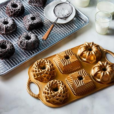 Motllo pastís Geo Bundtlette x6 cav Nordic Ware