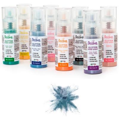 Spray pump comestible brillant 6 g blau