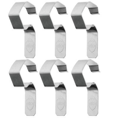 Pack 6 clips per pots weck 100 mm