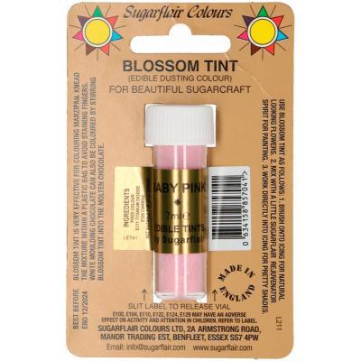 Colorant pols alimentari Sugarflair 7ml Baby pink