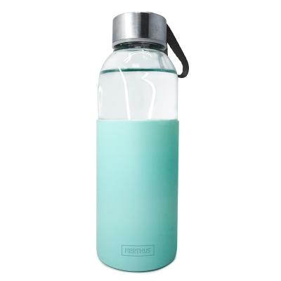 Ampolla vidre amb banda silicona
