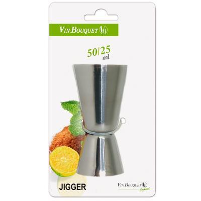 Mesurador cocteleria eco jigger doble 50/25 ml