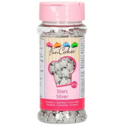 Sprinkles Estrelles platejades 60 g