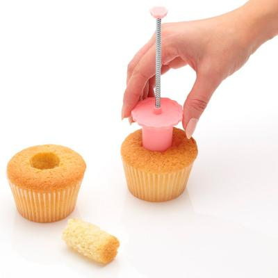 Buidador tallador per cupcakes amb expulsor