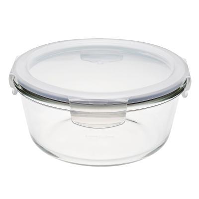 Tupper cristal borosilicato Lock&Lock redondo