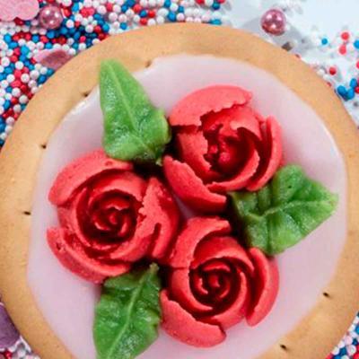Boquilla rusa rosa de 10 pètals