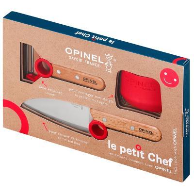 Set ganivet i pelador Opinel Master Chef junior