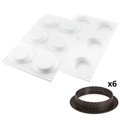 Motllo silicona Kit Tarta Ring Klassik 7 cm