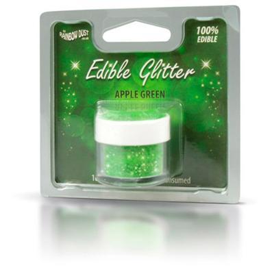 Pols brillant comestible 5 g Glitter verd poma