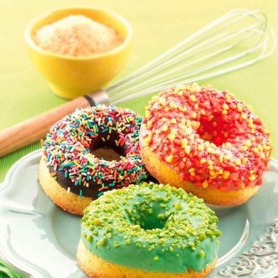 Motllo silicona Donuts 6 cav.