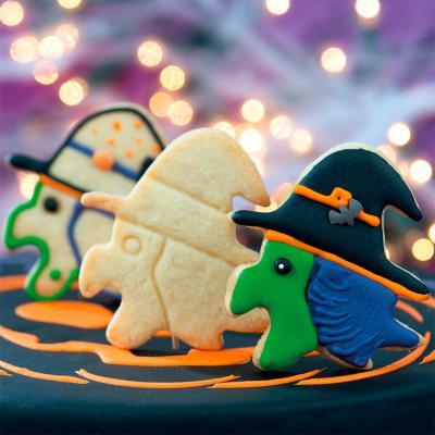 Tallador galetes plàstic Bruixa Befana 8 cm