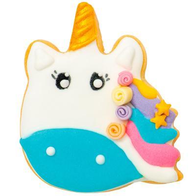 Tallador galetes plàstic Unicorn al vent