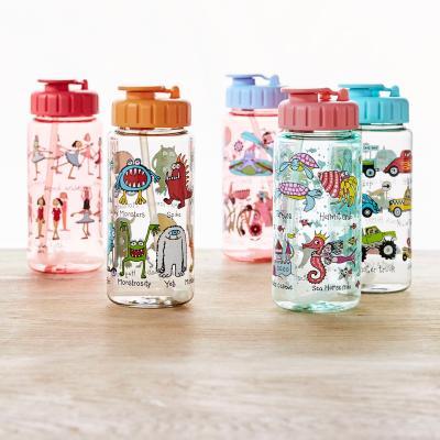 Ampolla aigua amb canyeta Monsters