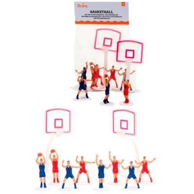 Set 10 peces decoració bàsquet