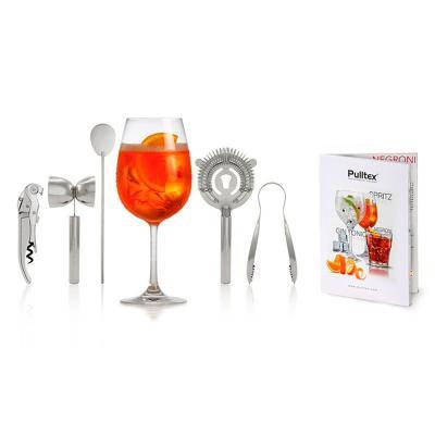 Set regal Gin Tonic 5 peces i receptari