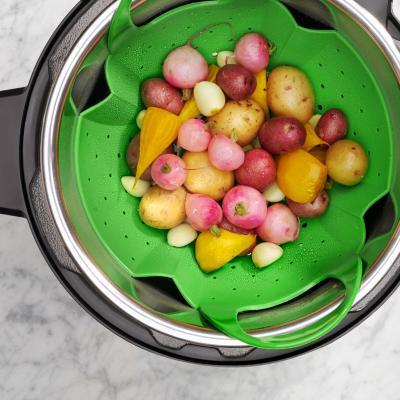 Cistella Vaporera silicona coure verdures Oxo