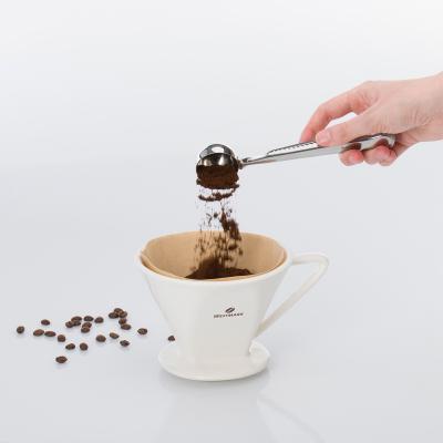 Cullera dosificar cafè amb clip tancament