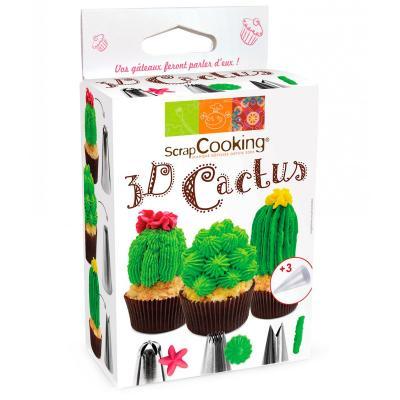 Set 3 boquilles Cactus