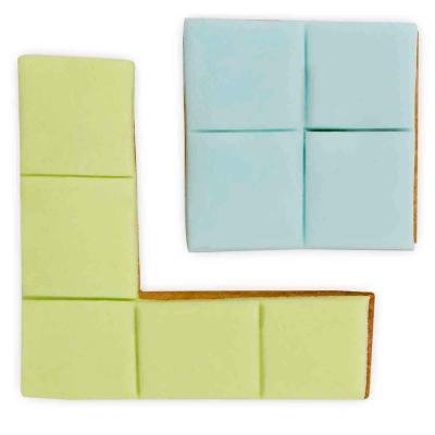 Tallador galetes Cub Rubik 6 cm