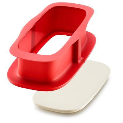 Motllo rectangular silicona desmuntable 24 cm