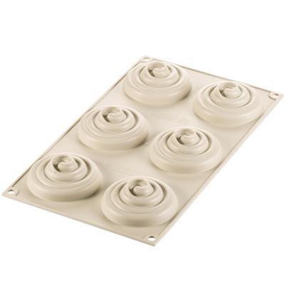 Motllo silicona Kit Tarta Twist x6 8 cm