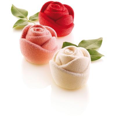 Motllo silicona Rose x6