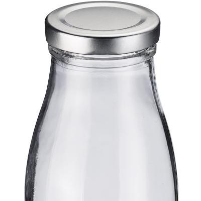 Ampolla sucs i llet vidre amb tapa