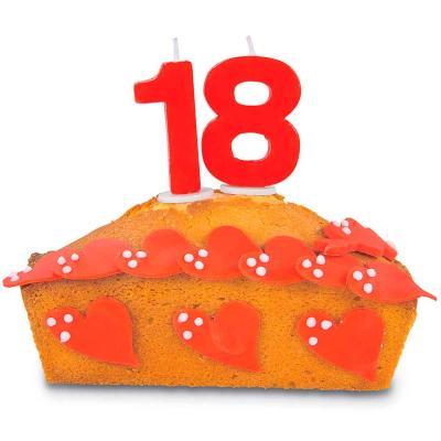 Espelma pastís aniversari nº 1