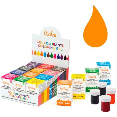 Colorant en gel icing color 28 g taronja