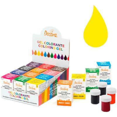 Colorant en gel icing color 28 g groc