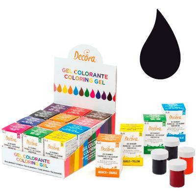 Colorant en gel icing color 28 g negre