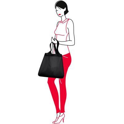 Bossa compra plegable shopper black
