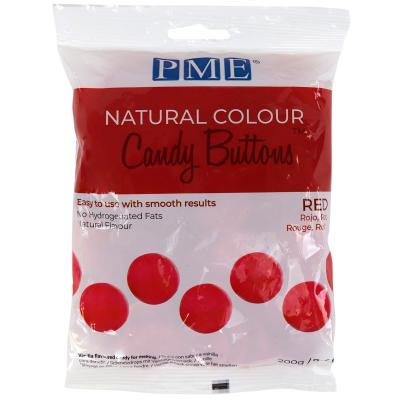 Candy Melts color natural PME vermell