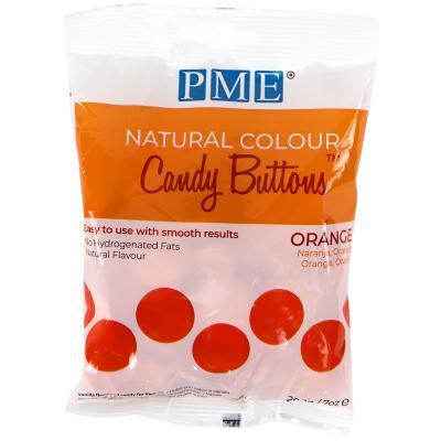 Candy Melts color natural PME taronja