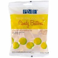Candy Melts color natural PME groc