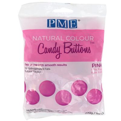 Candy Melts color natural PME rosa