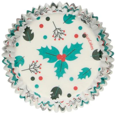 Paper cupcakes x48 Fulla de Grèvol