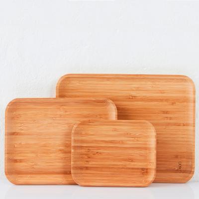 Safata servir bambú