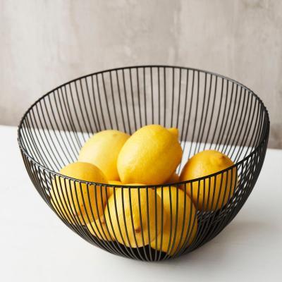 Cistell fruiter metàl·lic