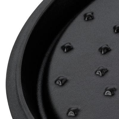 Cassola oval ferro esmaltada Minero 34 cm, 7 L