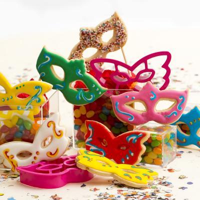 Set 2 talladors galetes plàstic Màscares