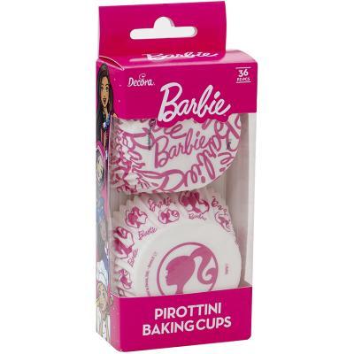 Paper cupcakes x36 Barbie