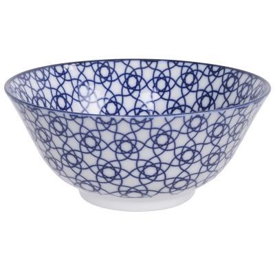 Bol japonès Tayo Nippon Blue stripe 15 cm