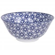 Bol japonés Tayo Nippon Blue stripe 15 cm