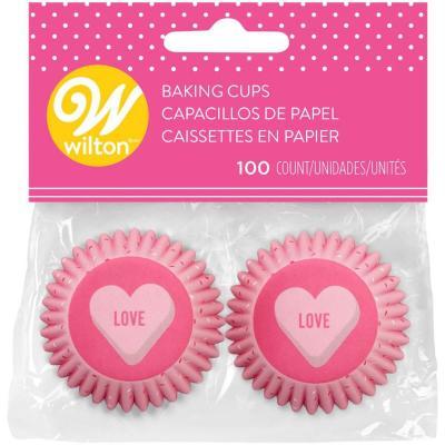 Paper mini cupcakes x100 Love